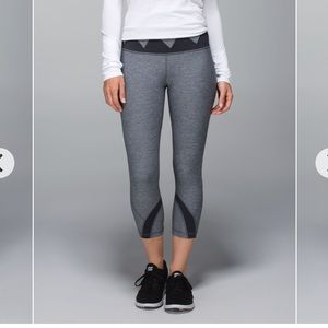 Lululemon | Run Inspire II Crop leggings